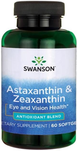 Astaxanthin & Zeaxanthin - 60 softgels versandkostenfrei/portofrei bestellen/kaufen