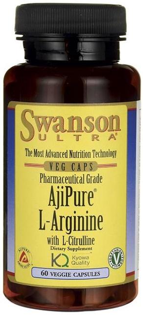 AjiPure L-Arginine with L-Citrulline - 60 vcaps versandkostenfrei/portofrei bestellen/kaufen