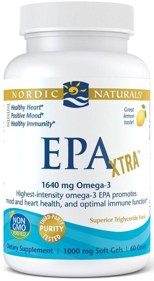EPA Xtra, 1640mg Lemon - 60 softgels versandkostenfrei/portofrei bestellen/kaufen