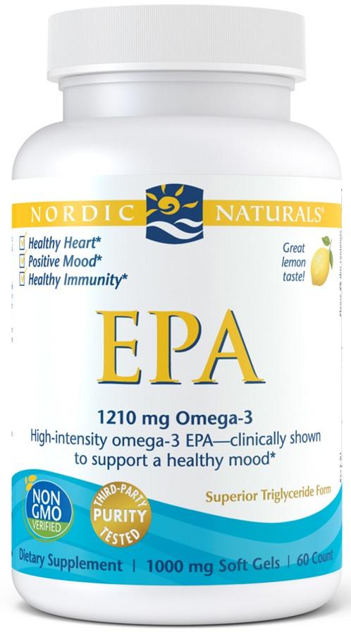 EPA, 1210mg Lemon - 60 softgels versandkostenfrei/portofrei bestellen/kaufen