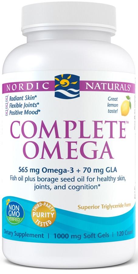 Complete Omega, 565mg Lemon - 120 softgels versandkostenfrei/portofrei bestellen/kaufen