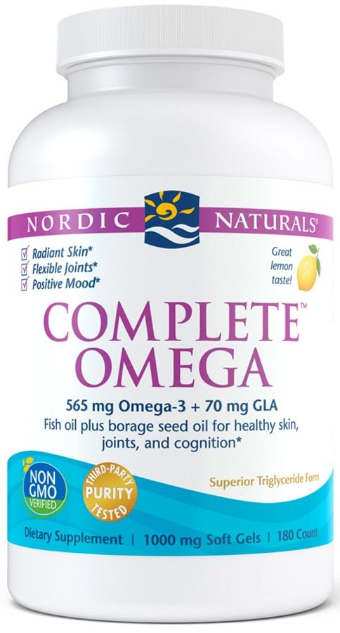 Complete Omega, 565mg Lemon - 180 softgels versandkostenfrei/portofrei bestellen/kaufen