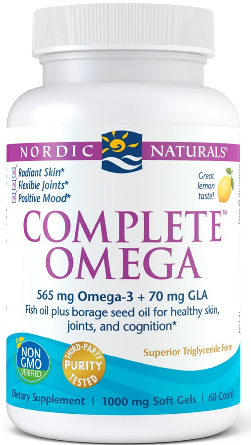 Complete Omega, 565mg Lemon - 60 softgels versandkostenfrei/portofrei bestellen/kaufen