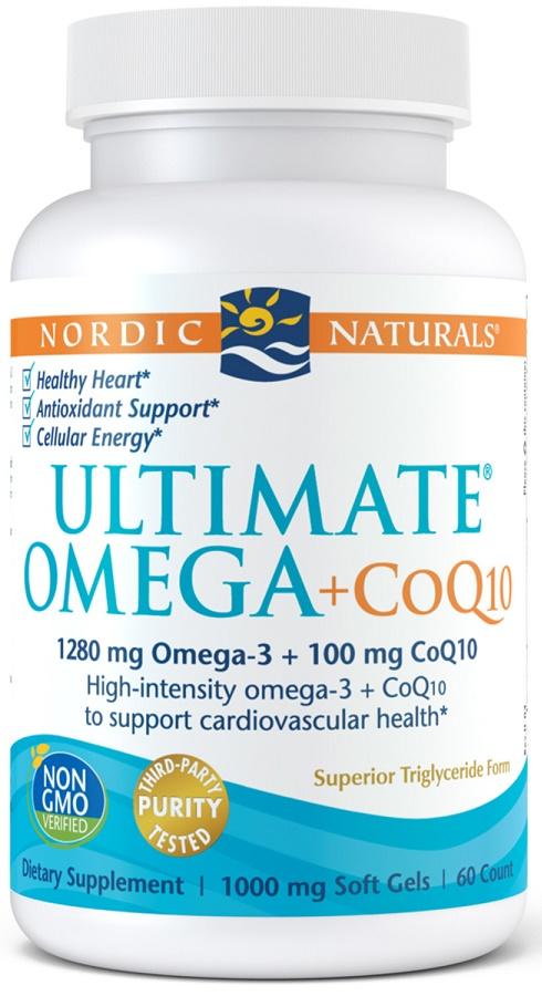 Ultimate Omega + CoQ10, 1280mg - 60 softgels versandkostenfrei/portofrei bestellen/kaufen