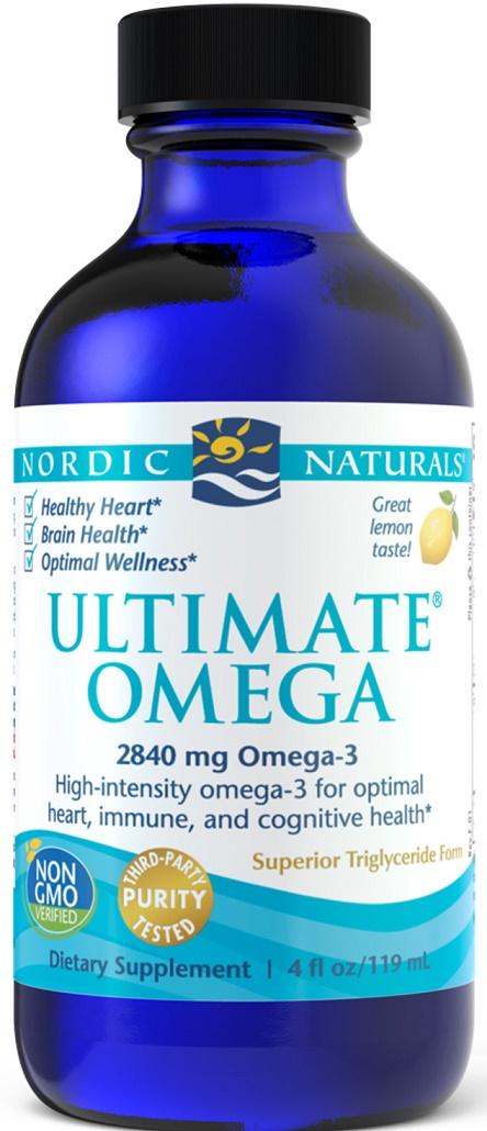 Ultimate Omega, 2840mg Lemon Flavor -119 ml. versandkostenfrei/portofrei bestellen/kaufen