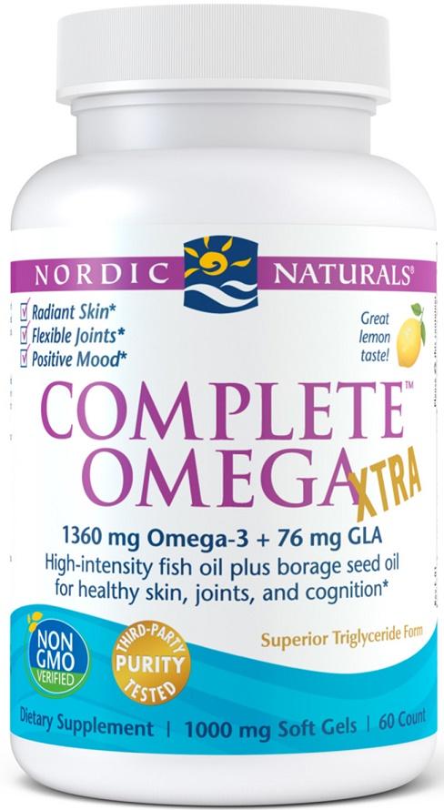 Complete Omega Xtra, 1360mg - 60 softgels versandkostenfrei/portofrei bestellen/kaufen