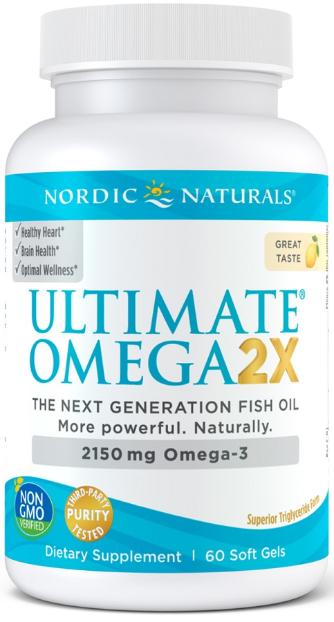 Ultimate Omega 2X, 2150mg Lemon - 60 softgels versandkostenfrei/portofrei bestellen/kaufen