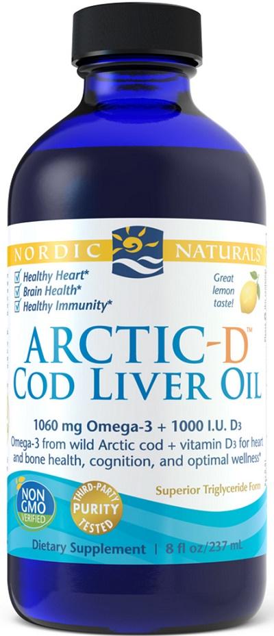 Arctic-D Cod Liver Oil, Lemon - 237 ml. versandkostenfrei/portofrei bestellen/kaufen