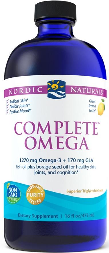 Complete Omega, 1270mg Lemon - 473 ml versandkostenfrei/portofrei bestellen/kaufen