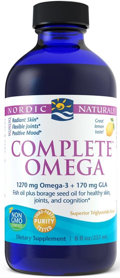 Complete Omega, 1270mg Lemon - 237 ml versandkostenfrei/portofrei bestellen/kaufen