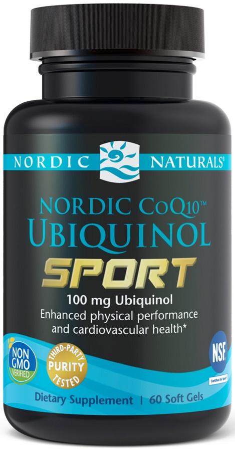 Nordic CoQ10 Ubiquinol Sport, 100mg - 60 softgels versandkostenfrei/portofrei bestellen/kaufen