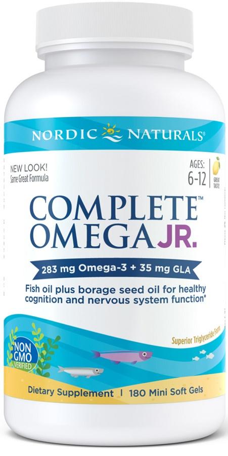 Complete Omega Junior, 283mg Lemon - 180 softgels versandkostenfrei/portofrei bestellen/kaufen