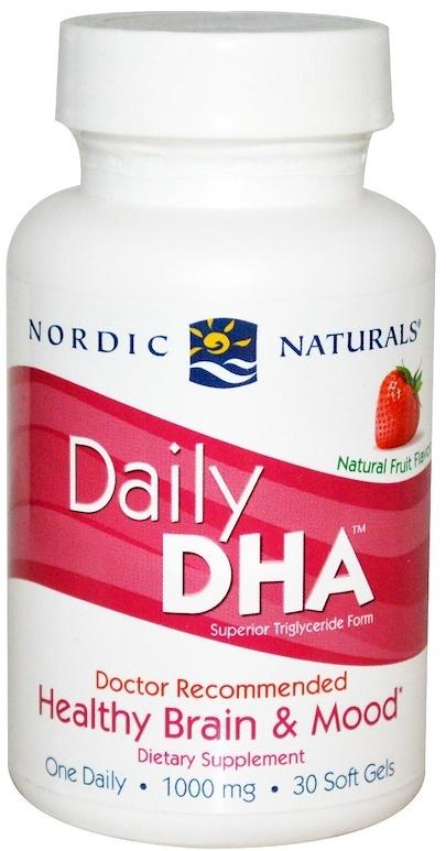 Daily DHA, Strawberry - 30 softgels versandkostenfrei/portofrei bestellen/kaufen