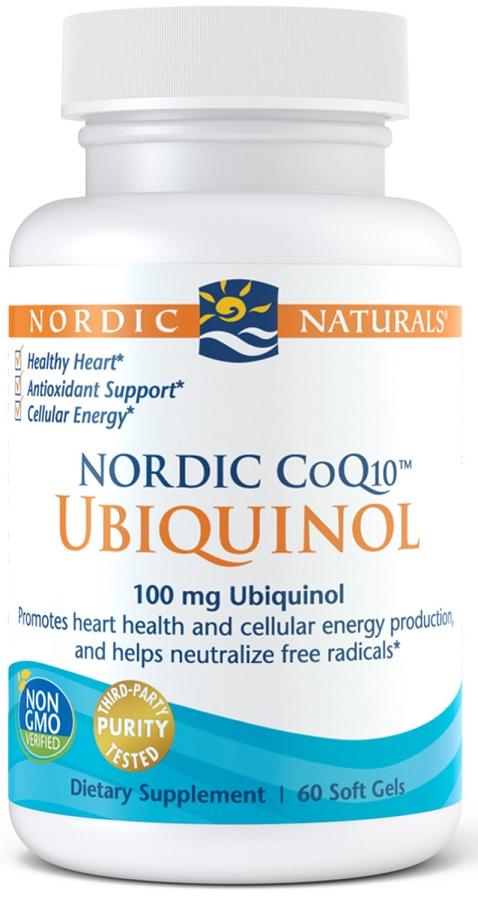 Nordic CoQ10 Ubiquinol, 100mg - 60 softgels versandkostenfrei/portofrei bestellen/kaufen