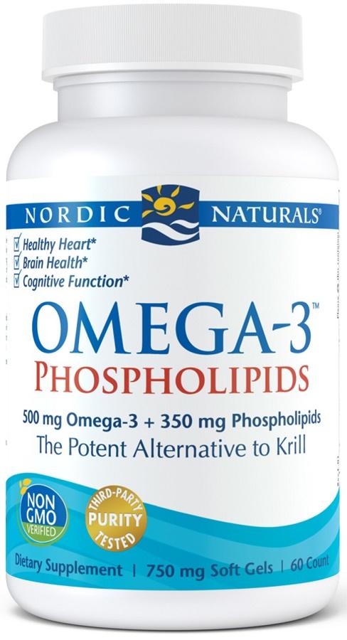 Omega-3 Phospholipids, 500mg - 60 softgels versandkostenfrei/portofrei bestellen/kaufen