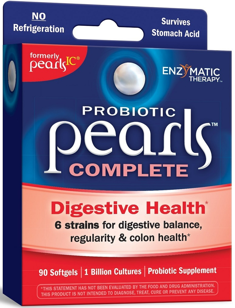 90g, 52,06 EUR/100g Enzymatic Therapy Probiotic Pearls Complete - 90 softgels