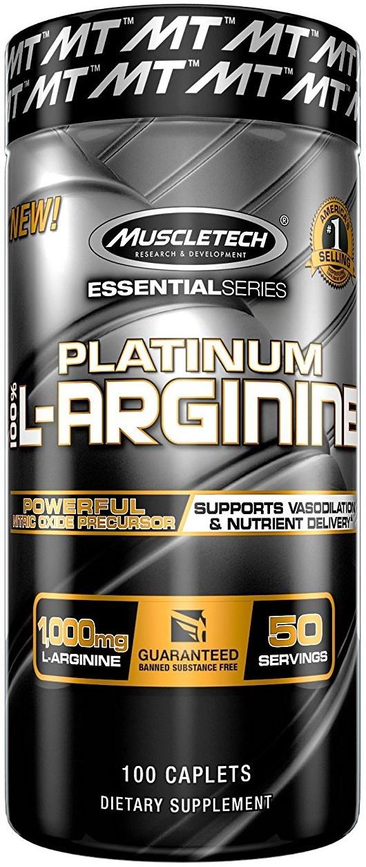 Platinum 100% L-Arginine - 100 caplets versandkostenfrei/portofrei bestellen/kaufen