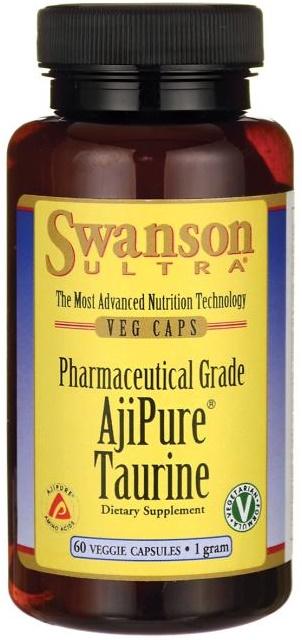 AjiPure Taurine, 1g - 60 vcaps versandkostenfrei/portofrei bestellen/kaufen