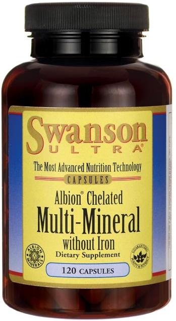 Albion Chelated Multi-Mineral without Iron - 120 caps versandkostenfrei/portofrei bestellen/kaufen