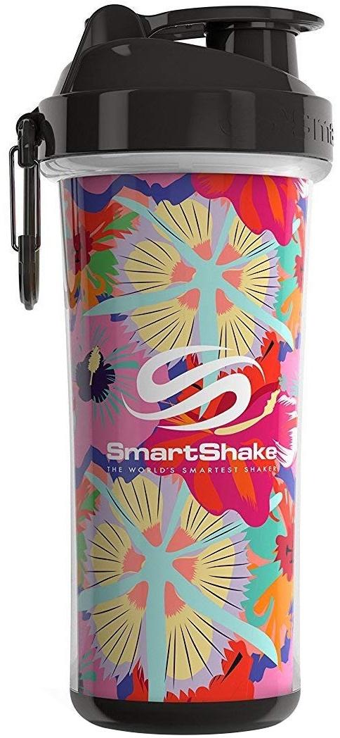 Double Wall Shaker Cup, Flower (Tropical Red) - 750 ml. versandkostenfrei/portofrei bestellen/kaufen