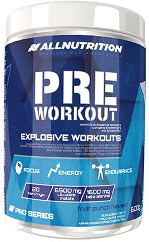Pre Workout, Fruit Punch - 600g versandkostenfrei/portofrei bestellen/kaufen