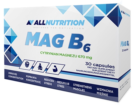 MAG B6 - 30 caps versandkostenfrei/portofrei bestellen/kaufen