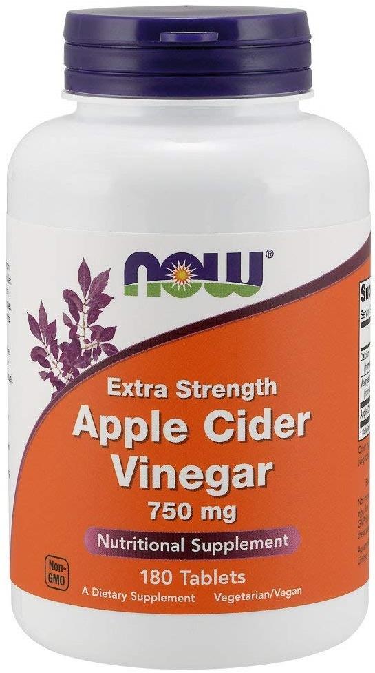 Apple Cider Vinegar, 750mg Extra Strength - 180 tabs versandkostenfrei/portofrei bestellen/kaufen