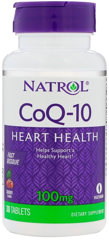 CoQ-10 Fast Dissolve 100mg - 30 tabs versandkostenfrei/portofrei bestellen/kaufen