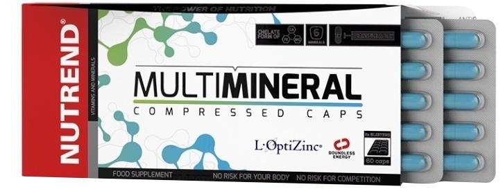 MultiMineral Compressed Caps - 60 caps versandkostenfrei/portofrei bestellen/kaufen