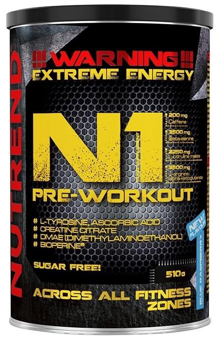 N1 Pre-Workout, Grapefruit - 510g versandkostenfrei/portofrei bestellen/kaufen