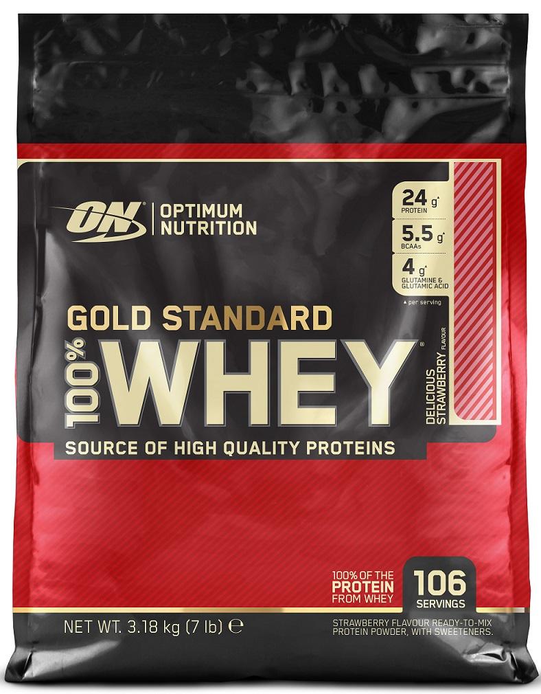Gold Standard 100% Whey, Vanilla Ice Cream - 3180g versandkostenfrei/portofrei bestellen/kaufen