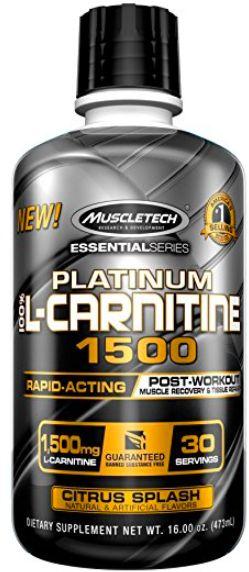 Platinum 100% L-Carnitine 1500, Citrus Splash - 473 ml. versandkostenfrei/portofrei bestellen/kaufen