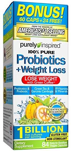 100% Pure Probiotics + Weight Loss - 84 vcaps versandkostenfrei/portofrei bestellen/kaufen