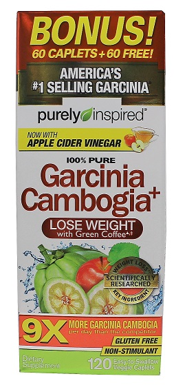 100% Pure Garcinia Cambogia+ - 120 vcaps versandkostenfrei/portofrei bestellen/kaufen