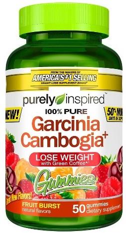 100% Pure Garcinia Cambogia+ Gummies, Fruit Burst - 50 gummies versandkostenfrei/portofrei bestellen/kaufen