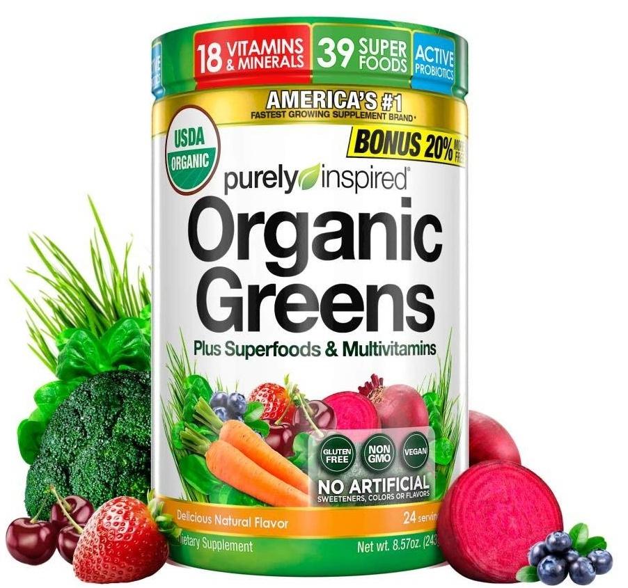 Organic Greens, Unflavored - 243g versandkostenfrei/portofrei bestellen/kaufen