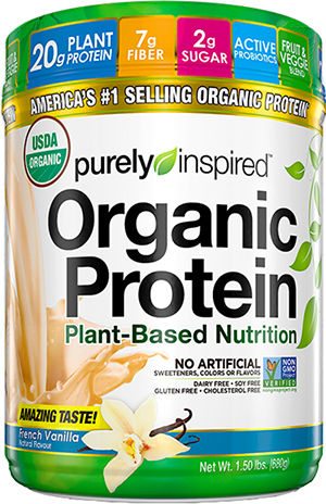 Organic Protein, Decadent Chocolate - 680g versandkostenfrei/portofrei bestellen/kaufen