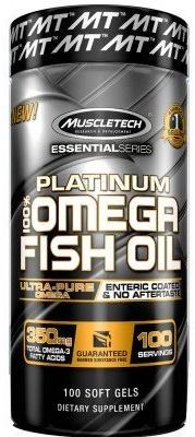 Platinum 100% Omega Fish Oil - 100 softgels versandkostenfrei/portofrei bestellen/kaufen