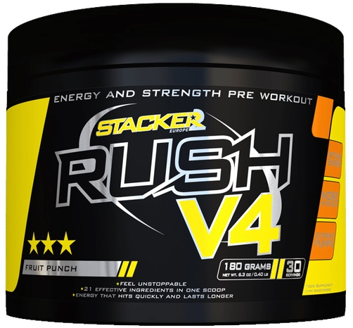 Rush V4, Orange Tangerine - 180g versandkostenfrei/portofrei bestellen/kaufen