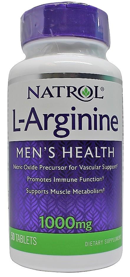 L-Arginine, 1000mg - 50 tabs versandkostenfrei/portofrei bestellen/kaufen