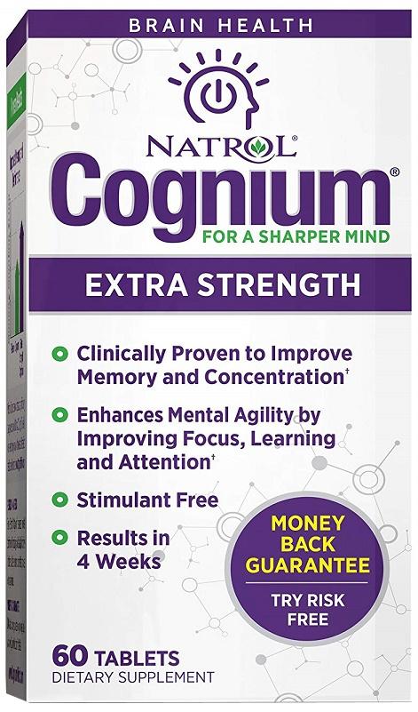 Cognium For Sharped Mind Extra Strength - 60 tabs versandkostenfrei/portofrei bestellen/kaufen