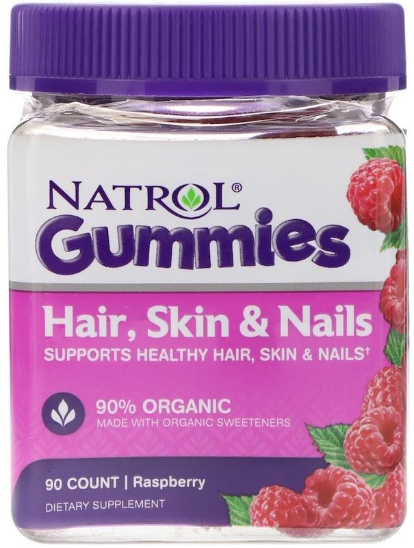 Hair, Skin & Nails Gummies, Raspberry - 90 gummies versandkostenfrei/portofrei bestellen/kaufen