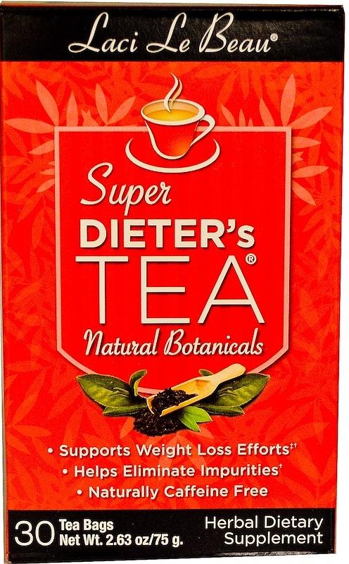 Laci Le Beau Super Dieter's Tea, Natural Botanicals - 30 tea bags versandkostenfrei/portofrei bestellen/kaufen