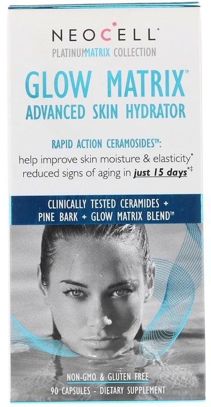 Glow Matrix, Advanced Skin Hydrator - 90 caps versandkostenfrei/portofrei bestellen/kaufen