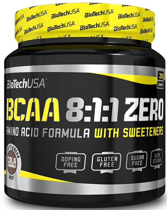 BCAA 8:1:1 Zero, Cola - 250g versandkostenfrei/portofrei bestellen/kaufen