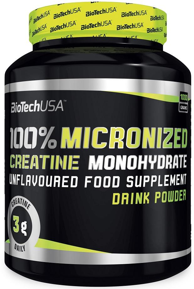 100% Creatine Monohydrate, Unflavoured - 1000g versandkostenfrei/portofrei bestellen/kaufen