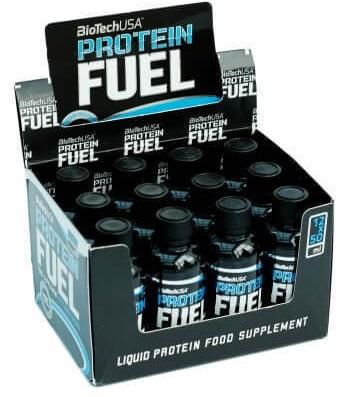 Protein Fuel, Raspberry - 12 x 50 ml. versandkostenfrei/portofrei bestellen/kaufen