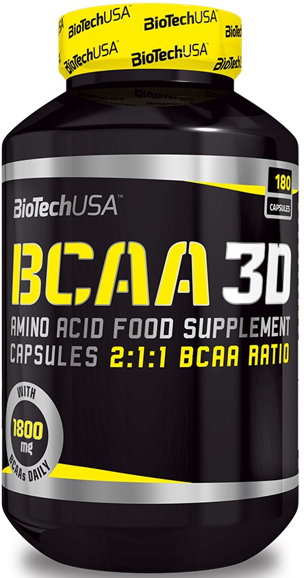 BCAA 3D - 180 caps versandkostenfrei/portofrei bestellen/kaufen