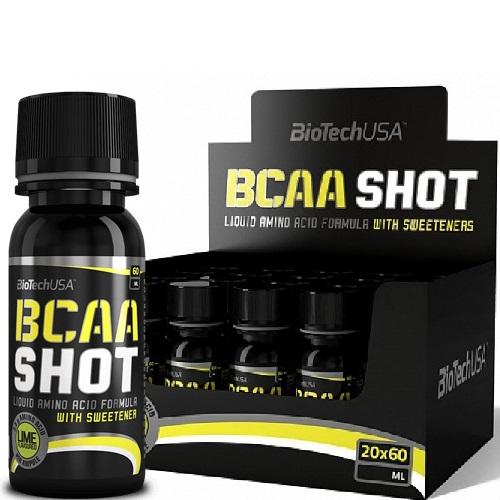 BCAA Shot, Lime - 20 x 60 ml. versandkostenfrei/portofrei bestellen/kaufen