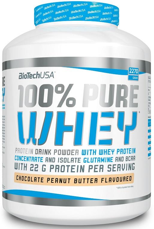 100% Pure Whey, Strawberry - 2270g versandkostenfrei/portofrei bestellen/kaufen